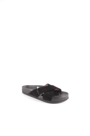 Marc O'Polo Komfort-Sandalen schwarz Street-Fashion-Look