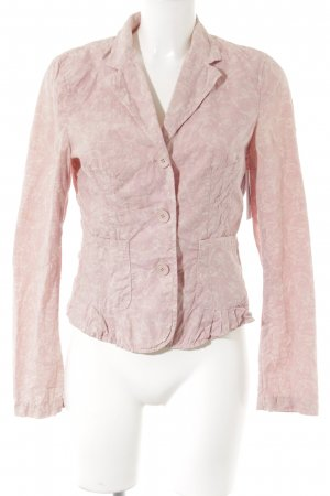 Marc O'Polo Kurz-Blazer Allover-Druck Romantik-Look