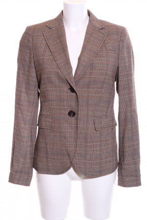 Marc O'Polo Kurz-Blazer braun-hellgrau Allover-Druck Business-Look
