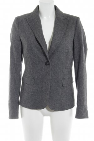 Marc O'Polo Kurz-Blazer grau meliert Business-Look