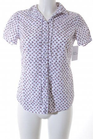 Marc O'Polo Kurzarm-Bluse Leomuster Casual-Look
