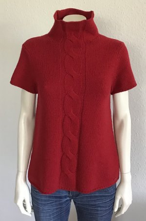 Marc O'Polo Short Sleeve Sweater red