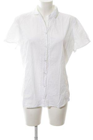 Marc O'Polo Kurzarmhemd weiß schlichter Stil