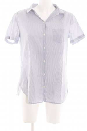 Marc O'Polo Short Sleeve Shirt blue-white striped pattern business style