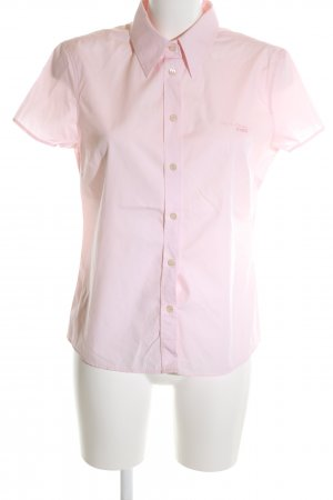 Marc O'Polo Short Sleeve Shirt pink embroidered lettering casual look