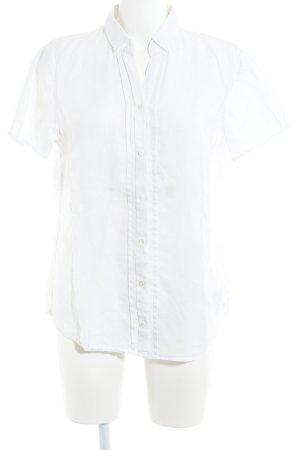 Marc O'Polo Chemise à manches courtes blanc style décontracté