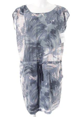 Marc O'Polo Kurzarmkleid abstraktes Muster sportlicher Stil