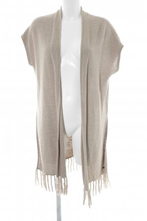 Marc O'Polo Short Sleeve Knitted Jacket beige casual look