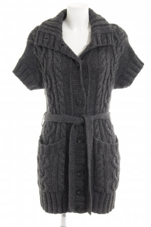 Marc O'Polo Short Sleeve Knitted Jacket grey fluffy