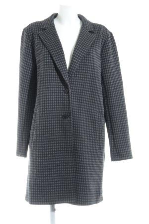 Marc O'Polo Manteau court noir-gris foncé motif à carreaux
