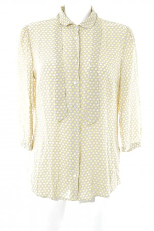 Marc O'Polo Langarm-Bluse abstraktes Muster Vintage-Look