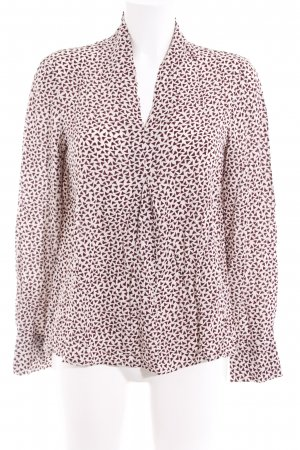 Marc O'Polo Langarm-Bluse Allover-Druck schlichter Stil