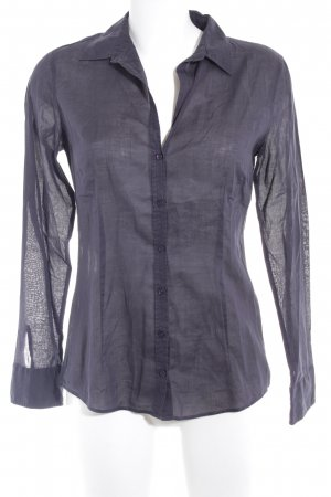 Marc O'Polo Langarm-Bluse anthrazit Casual-Look
