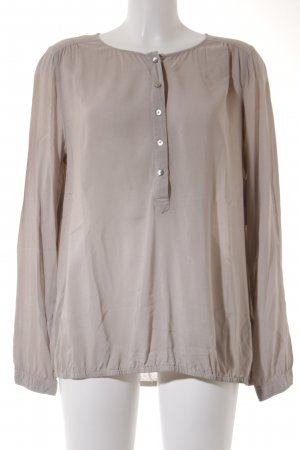 Marc O'Polo Langarm-Bluse beige Casual-Look