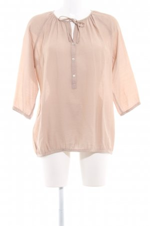 Marc O'Polo Langarm-Bluse camel Casual-Look