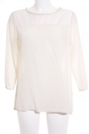 Marc O'Polo Langarm-Bluse creme Casual-Look