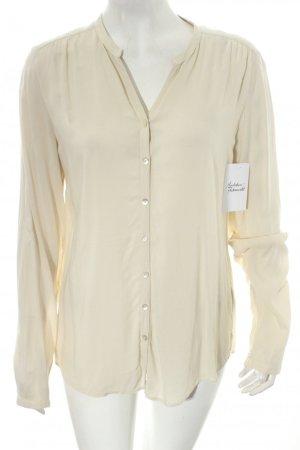 Marc O'Polo Langarm-Bluse creme minimalistischer Stil