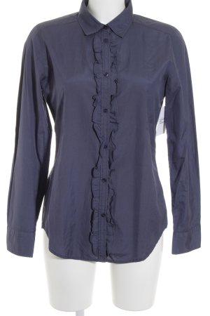 Marc O'Polo Langarm-Bluse dunkelblau Elegant