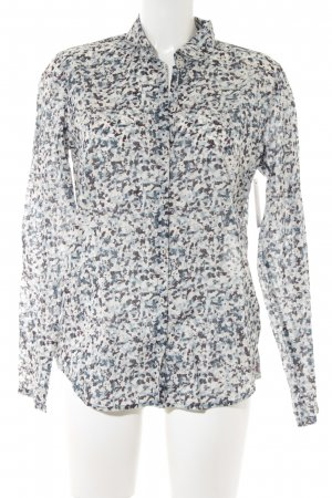 Marc O'Polo Langarm-Bluse Farbtupfermuster Casual-Look