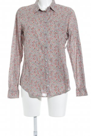 Marc O'Polo Langarm-Bluse florales Muster Casual-Look