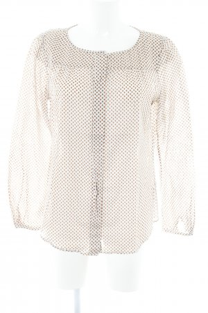 Marc O'Polo Langarm-Bluse grafisches Muster Business-Look