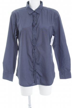 Marc O'Polo Langarm-Bluse graublau Business-Look