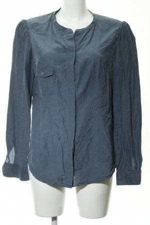 Marc O'Polo Langarm-Bluse graublau Casual-Look