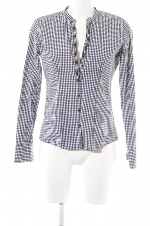 Marc O'Polo Langarm-Bluse Karomuster Country-Look