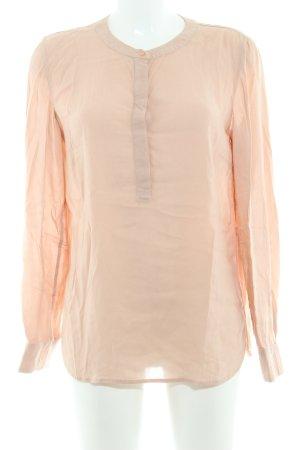 Marc O'Polo Langarm-Bluse nude schlichter Stil