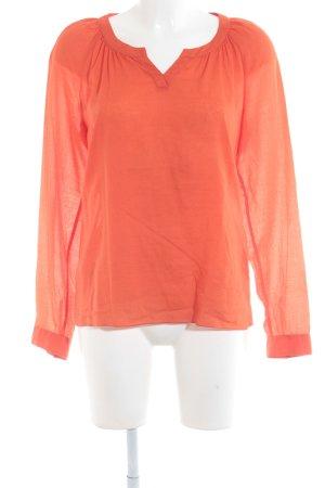 Marc O'Polo Langarm-Bluse orange Casual-Look