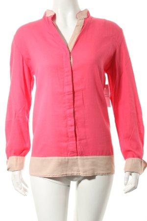 Marc O'Polo Langarm-Bluse pink-hellbeige Eleganz-Look