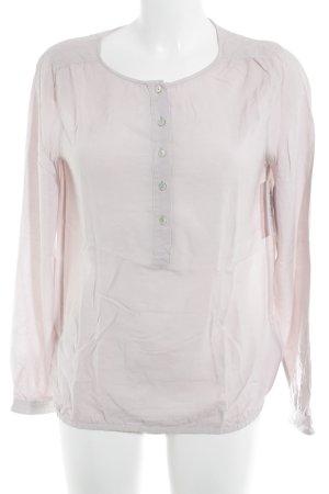 Marc O'Polo Langarm-Bluse rosé Casual-Look