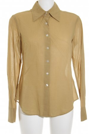 Marc O'Polo Langarm-Bluse sandbraun Casual-Look