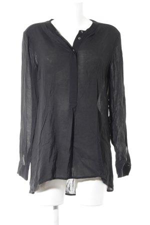 Marc O'Polo Langarm-Bluse schwarz