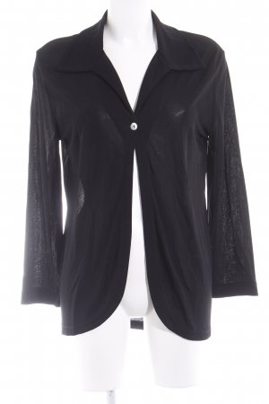 Marc O'Polo Langarm-Bluse schwarz Casual-Look