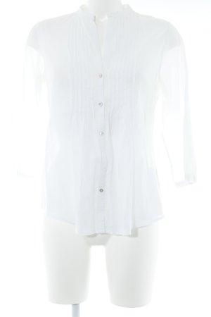 Marc O'Polo Langarm-Bluse weiß Elegant
