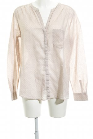 Marc O'Polo Blouse met lange mouwen wolwit-stoffig roze abstract patroon
