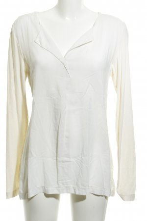 Marc O'Polo Langarm-Bluse wollweiß-creme Casual-Look