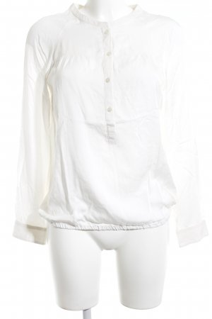 Marc O'Polo Langarm-Bluse wollweiß schlichter Stil