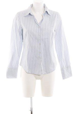 Marc O'Polo Camisa de manga larga azul-gris claro estampado a rayas