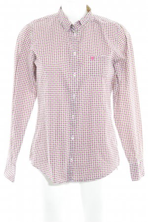 Marc O'Polo Langarmhemd abstraktes Muster Casual-Look