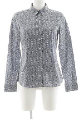 Marc O'Polo Langarmhemd abstraktes Muster schlichter Stil