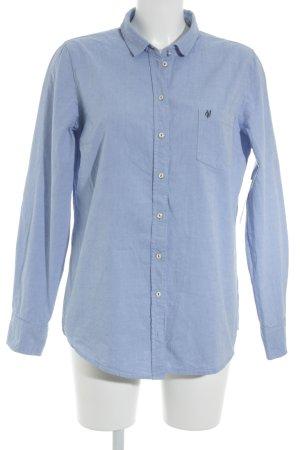 Marc O'Polo Langarmhemd himmelblau Casual-Look