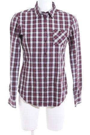Marc O'Polo Shirt met lange mouwen geruite print casual uitstraling