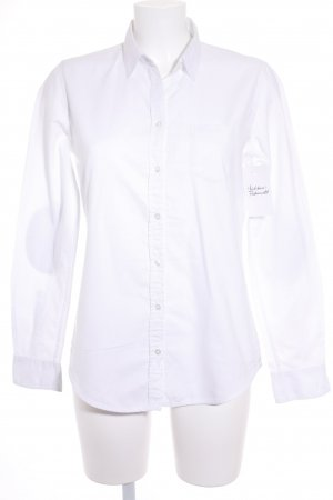 Marc O'Polo Long Sleeve Shirt white classic style
