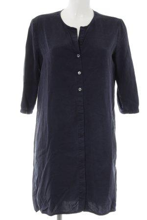 Marc O'Polo Langarmkleid dunkelblau schlichter Stil