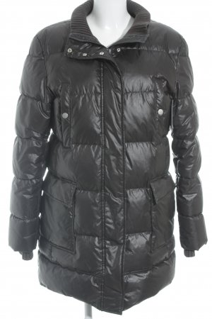 Marc O'Polo Lange Jacke dunkelgrau Steppmuster Street-Fashion-Look