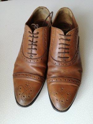Marc O'Polo Zapatos estilo Oxford marrón-coñac