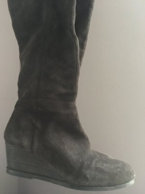 Marc O'Polo Platform Boots dark brown