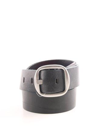 Marc O'Polo Cintura di pelle nero stile professionale
